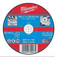Metaalafbraamschijf SG 27 P 125 (25 stuks)