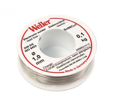 Weller EL99-1-100 Soldeertin, 1mm, 100g, Loodvrij