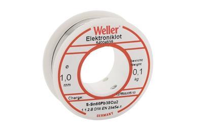 Weller Soldeertin 60-40-100, 1,0 mm 100 gr