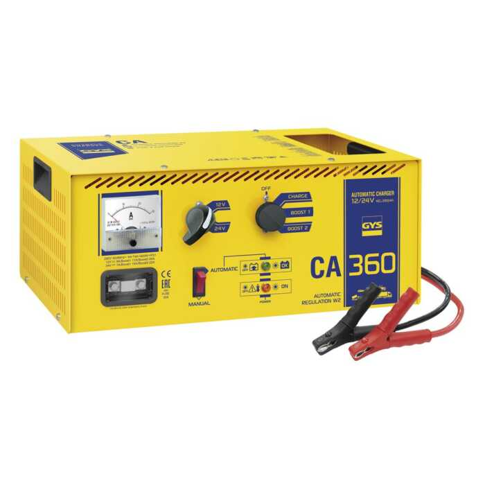 GYS Acculader ENERGY CA 360, Traditioneel