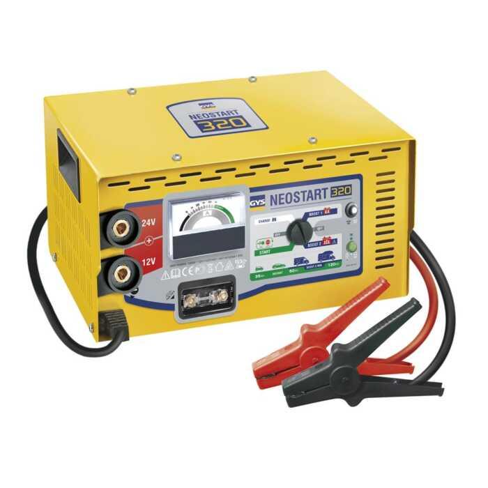GYS Lader-starter NEOSTART 320-12/24V